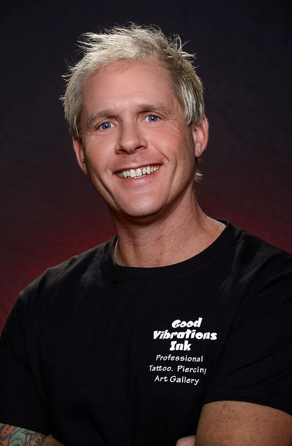 Scott Martin - Owner & Tattoo Artist | Good Vibrations Ink Orlando